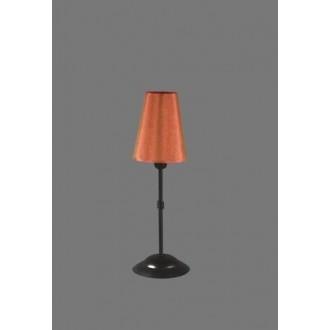 NAMAT 1239/11 | Redan Namat asztali lámpa 40cm kapcsoló 1x E14 fekete, piros, fehér