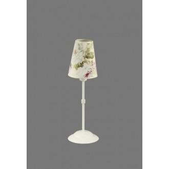 NAMAT 1241/9 | Salko Namat asztali lámpa 40cm kapcsoló 1x E14 fehér, többszínű
