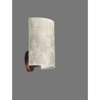 NAMAT 1285/8   Boren Namat falikar lámpa 1x E27 barna, többszínű