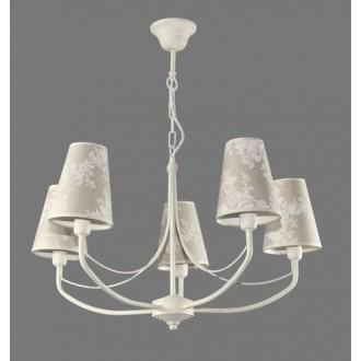NAMAT 1313/8 | Omar Namat csillár lámpa 5x E14 fehér, többszínű
