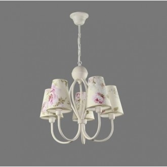 NAMAT 1340/9 | Salko Namat csillár lámpa 5x E14 fehér, többszínű