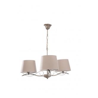 NAMAT 1965 | KlaudiaN Namat csillár lámpa 3x E27 föld, drapp