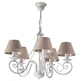 NAMAT 2189 | Dalia-Dalmacy Namat csillár lámpa 5x E14 fehér, drapp