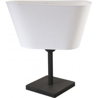 NAMAT 2374 | Werena Namat asztali lámpa 37cm kapcsoló 1x E27 fekete, fehér