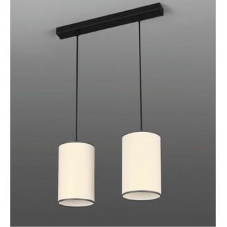 NAMAT 252 | LokoN Namat függeszték lámpa 2x E27 fekete, fehér