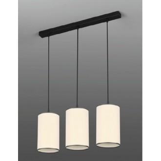 NAMAT 265 | LokoN Namat függeszték lámpa 3x E27 fekete, fehér