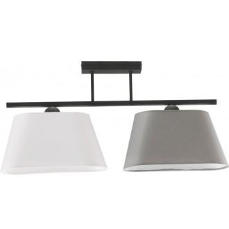 NAMAT 2999 | Werena Namat mennyezeti lámpa 2x E27 fekete, fehér, szürke