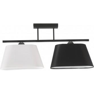 NAMAT 3000 | Werena Namat mennyezeti lámpa 2x E27 fekete, fehér