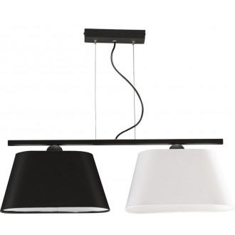 NAMAT 3001 | Werena Namat függeszték lámpa 2x E27 fekete, fehér