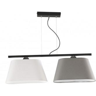 NAMAT 3002 | Werena Namat függeszték lámpa 2x E27 fekete, fehér, szürke