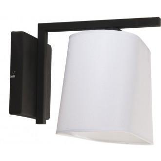 NAMAT 3004 | Werena Namat falikar lámpa 1x E27 fekete, fehér