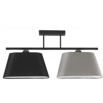NAMAT 3015 | Werena Namat mennyezeti lámpa 2x E27 fekete, szürke, fehér