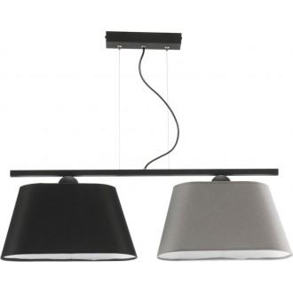 NAMAT 3017 | Werena Namat függeszték lámpa 2x E27 fekete, szürke, fehér