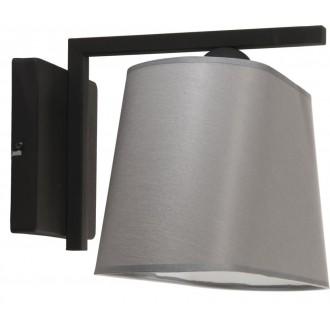 NAMAT 3020 | Werena Namat falikar lámpa 1x E27 fekete, szürke