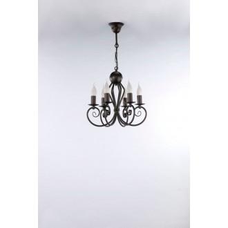 NAMAT 3557 | Kliwia-Classic Namat csillár lámpa 6x E14 wenge