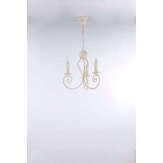 NAMAT 3563 | Kliwia-Classic Namat csillár lámpa 3x E14 krémszín