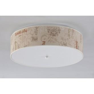 NAMAT 3605 | Garden_Walec Namat mennyezeti lámpa 4x E27 fehér, bézs, barna