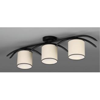 NAMAT 616 | Juvenia Namat mennyezeti lámpa 3x E27 fekete, krémszín