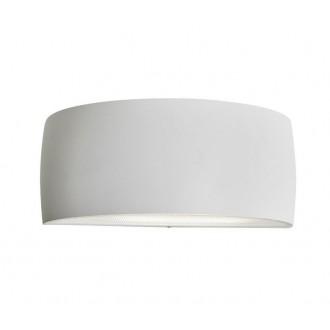 NORLYS 120W | Vasa Norlys fali lámpa 1x E27 IP65 fehér, fehér
