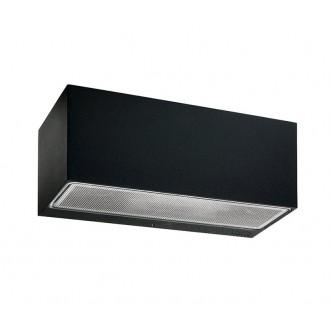 NORLYS 1305B | Asker Norlys fali lámpa 1x E27 IP65 fekete, savmart