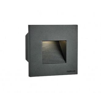 NORLYS 1340GR | Namsos Norlys beépíthető lámpa 1x LED 352lm 3000K IP65 grafit