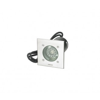 NORLYS 1553ST | Rena-NO Norlys beépíthető lámpa 130x85mm 1x GU10 IP68 matt króm