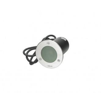 NORLYS 1556ST | Rena-NO Norlys beépíthető lámpa Ø85mm 1x GU10 IP68 matt króm