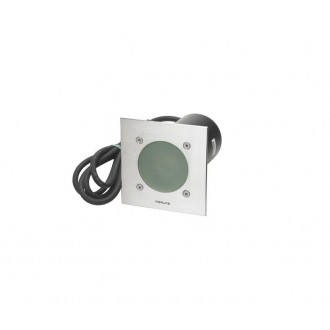 NORLYS 1557ST | Rena-NO Norlys beépíthető lámpa 130x130mm 1x GU10 IP68 matt króm
