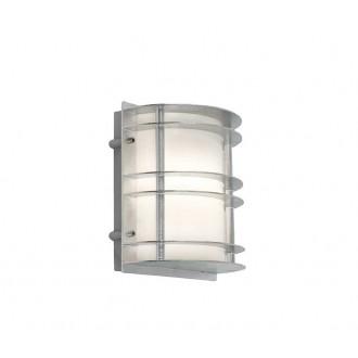 NORLYS 1600GA | Stockholm-NO Norlys fali lámpa 1x LED 800lm 3000K IP54 szürke, opál