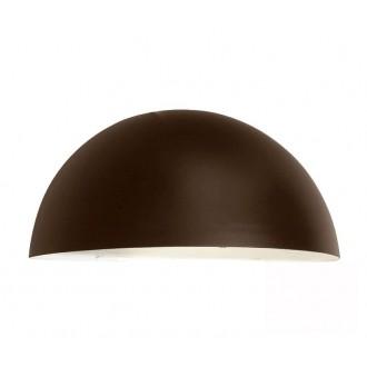 NORLYS 163BC | Paris-NO Norlys fali lámpa 1x E27 IP43 antikolt fekete, réz