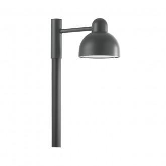 NORLYS 1913GR | Koster Norlys álló lámpa 23cm 1x LED 2000lm 3000K IP54 grafit