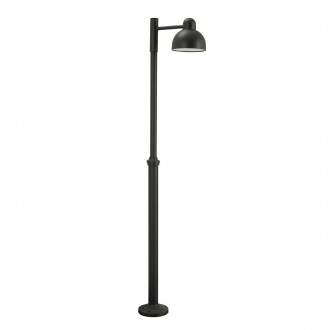 NORLYS 1914GR | Koster Norlys álló lámpa 236cm állítható magasság 1x LED 2000lm 3000K IP54 grafit