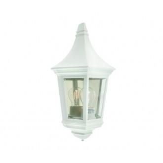 NORLYS 261W | Venedig-NO Norlys fali lámpa 1x E27 IP54 fehér, átlátszó