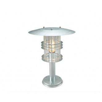 NORLYS 287GA | Stockholm-NO Norlys álló lámpa 47,5cm 1x E27 IP54 szürke, átlátszó