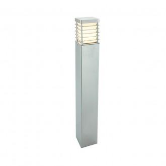 NORLYS 296GA | Halmstad Norlys álló lámpa 85cm 1x E27 IP65 szürke, opál