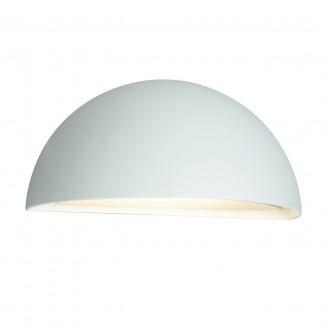 NORLYS 510W | Halden-NO Norlys fali lámpa 1x E27 IP65 fehér