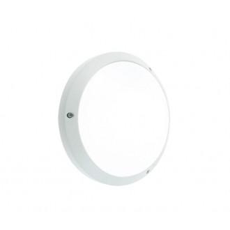 NORLYS 541W | Bornholm Norlys fali, mennyezeti lámpa 1x LED 1100lm 3000K IP65 fehér, opál