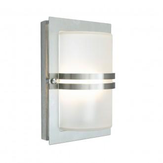 NORLYS 661ST | Basel Norlys fali lámpa 1x E27 IP54 matt króm, savmart