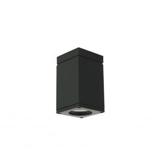 NORLYS 796B | Sandvik Norlys mennyezeti lámpa 1x GU10 265lm 2700K IP54 fekete