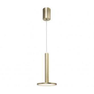 NOVA LUCE 1703301201 | Palencia Nova Luce függeszték lámpa 1x LED 414lm 3000K sárgaréz