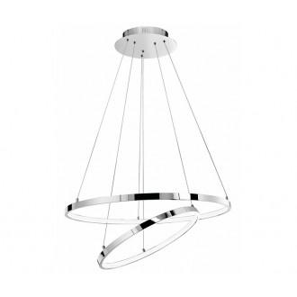NOVA LUCE 17222003D   Aria-NL Nova Luce függeszték lámpa 1x LED 4500lm 3000K króm