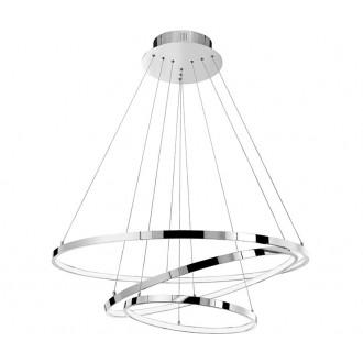 NOVA LUCE 17222004D | Aria-NL Nova Luce függeszték lámpa 1x LED 8100lm 3000K króm