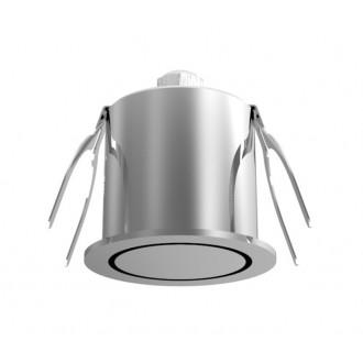NOVA LUCE 6800201 | Technical Nova Luce beépíthető lámpa Ø44mm 1x LED 3000K ezüst