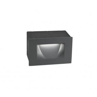 NOVA LUCE 726401 | Krypton Nova Luce beépíthető lámpa 1x LED 270lm 3000K IP54 sötétszürke