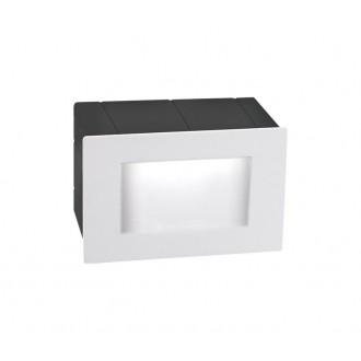 NOVA LUCE 726402 | Krypton Nova Luce beépíthető lámpa 1x LED 270lm 3000K IP54 fehér