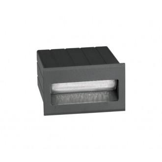 NOVA LUCE 726404 | Krypton Nova Luce beépíthető lámpa 1x LED 145lm 3000K IP54 sötétszürke