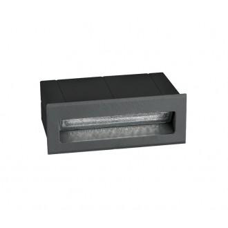 NOVA LUCE 726406 | Krypton Nova Luce beépíthető lámpa 1x LED 270lm 3000K IP54 sötétszürke