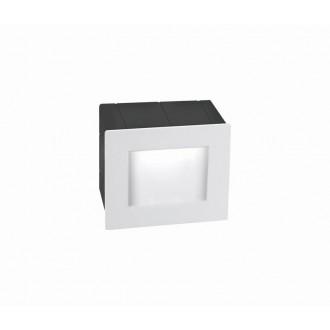 NOVA LUCE 727001 | Krypton Nova Luce beépíthető lámpa 1x LED 270lm 3000K IP54 fehér