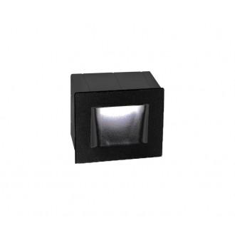 NOVA LUCE 727002 | Krypton Nova Luce beépíthető lámpa 1x LED 270lm 3000K IP54 sötétszürke