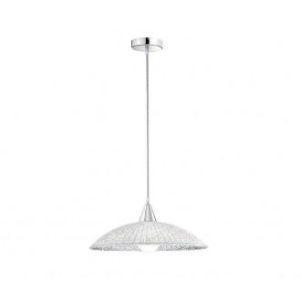 NOVA LUCE 7326501 | Andria-NL Nova Luce függeszték lámpa kerek 1x E27 fehér, króm